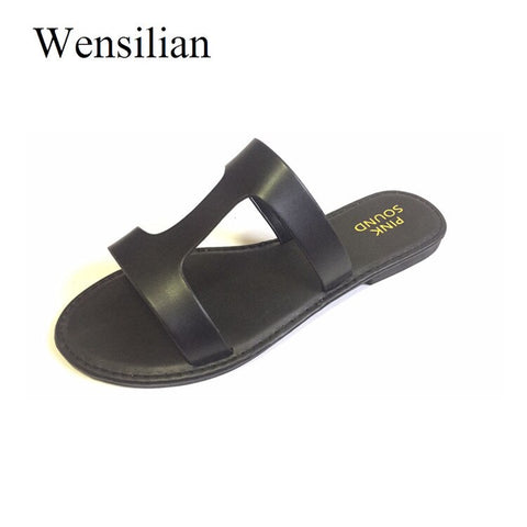 Summer Sandals for Women Bling Slippers Ladies Crystal Slides Flats Gladiator Sandals Women Beach Shoes Female Sandalia Feminina