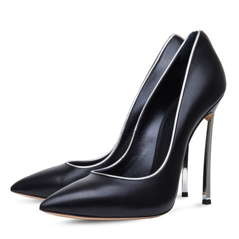 Image of Large Size 43 Party Shoes For Women Fashion Pointed Toe Wedding Shoes Woman Pumps Sexy High Heels Ladies Shoes