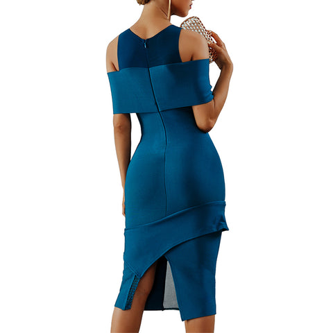 Image of Seamyla Brand Quality Runway Dress Women Summer Bandage Dresses Sexy New Fashion Bodycon Celebrity Party Dress Vestidos 2018