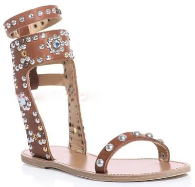 Summer Ladies Crystal Rivets Studs Ankle Strap Open toe Sandals Wooden Grain Chunky Heels Female Street Chic Sandalias Shoes