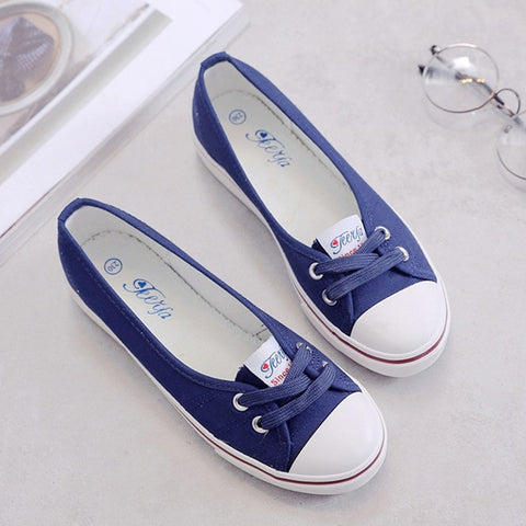 Women Loafers Shoes Ballet Breathable Women Flats Slip On Fashion Flats
