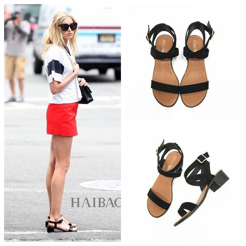 Image of Found It Versatile New Style A-line-Strap Sandals