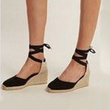 Image of sandalias mujer 2018 Women High Heel Ankel Strap Sandals Summer Woman Wedges Shoes Ladies Fashion Big Size Platform Sandals