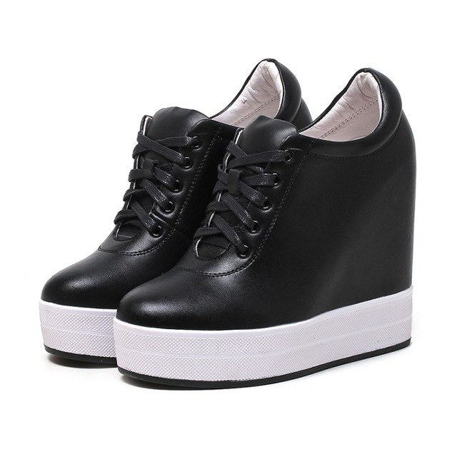 3dd317472b2 ... sneakers Shoes high heel pumps 2018 New Womens Wedges Height Increasing  Casual. Hover to zoom