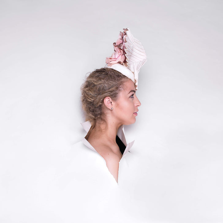 Lina Stein Millinery Origami Millinery .Photograph by Sadhbh Kenny