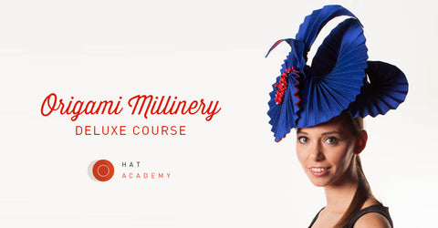 Lina Stein online millinery workshop