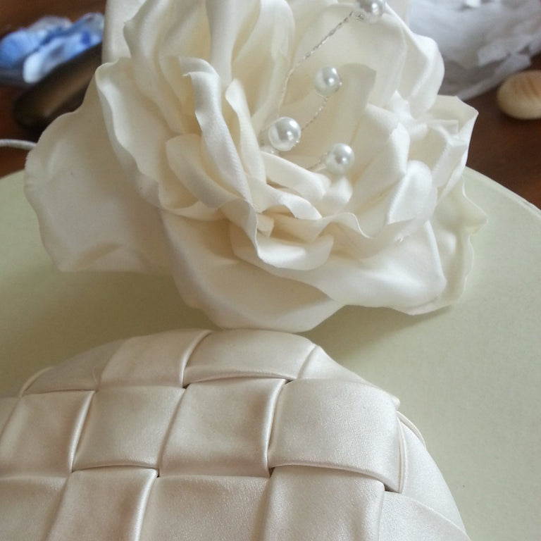 Lina Stein Millinery Workshop | bridal millinery silk flowers for advanced