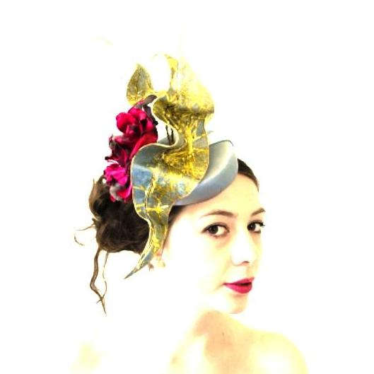 Lina Stein Millinery Workshop | bridal hat making for advanced