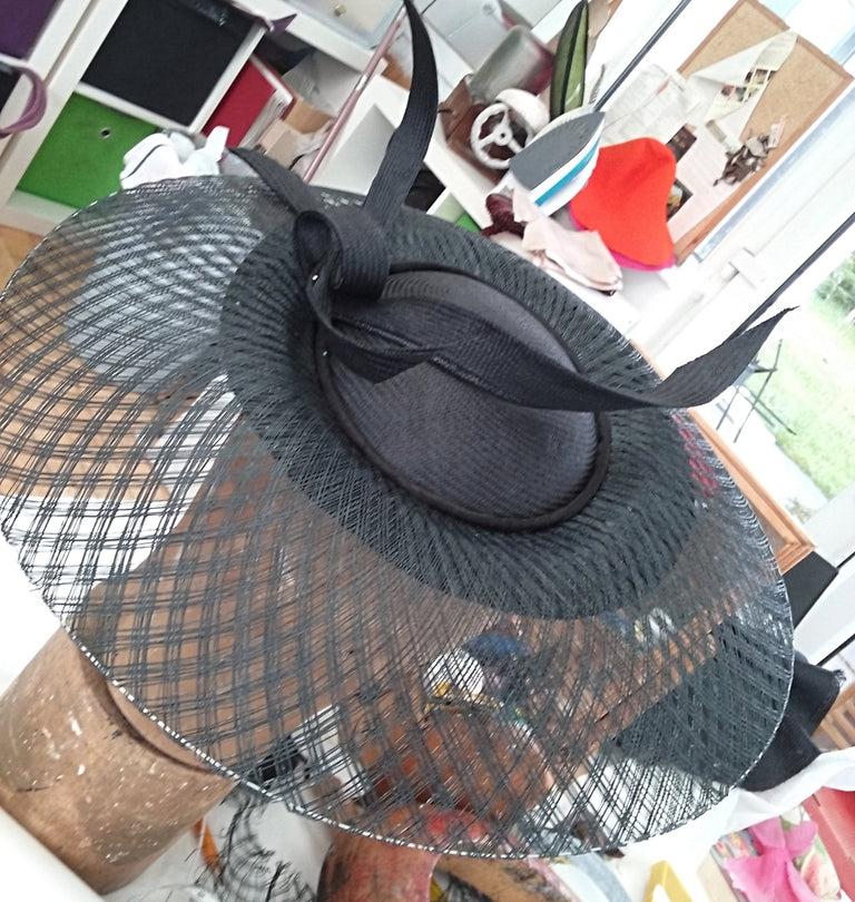 Lina Stein Millinery Workshop Basket weave sinamay