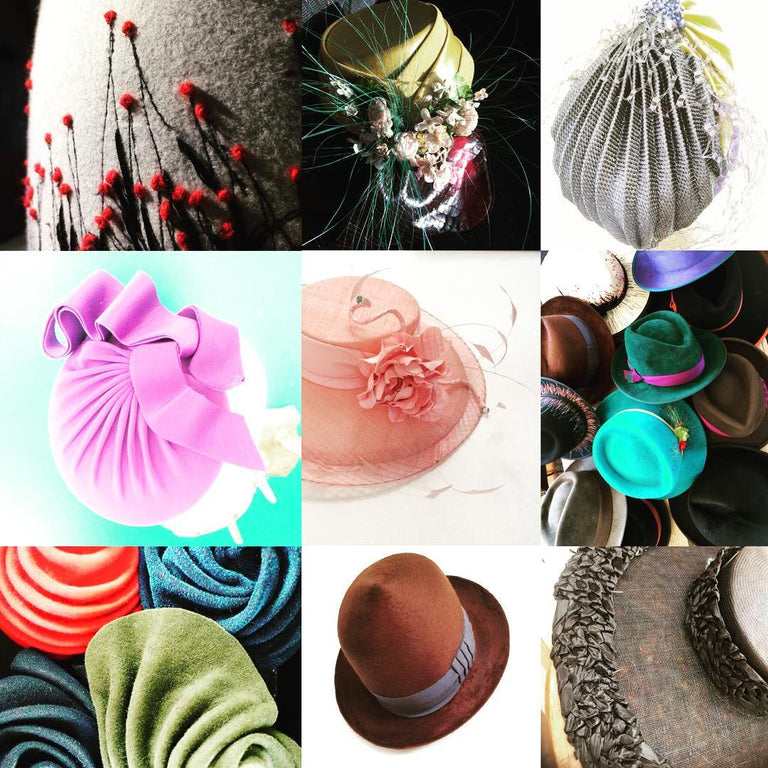 Hat making retreat for the lovers of millinery. Learn three areas of traditional millinery over 5 days.