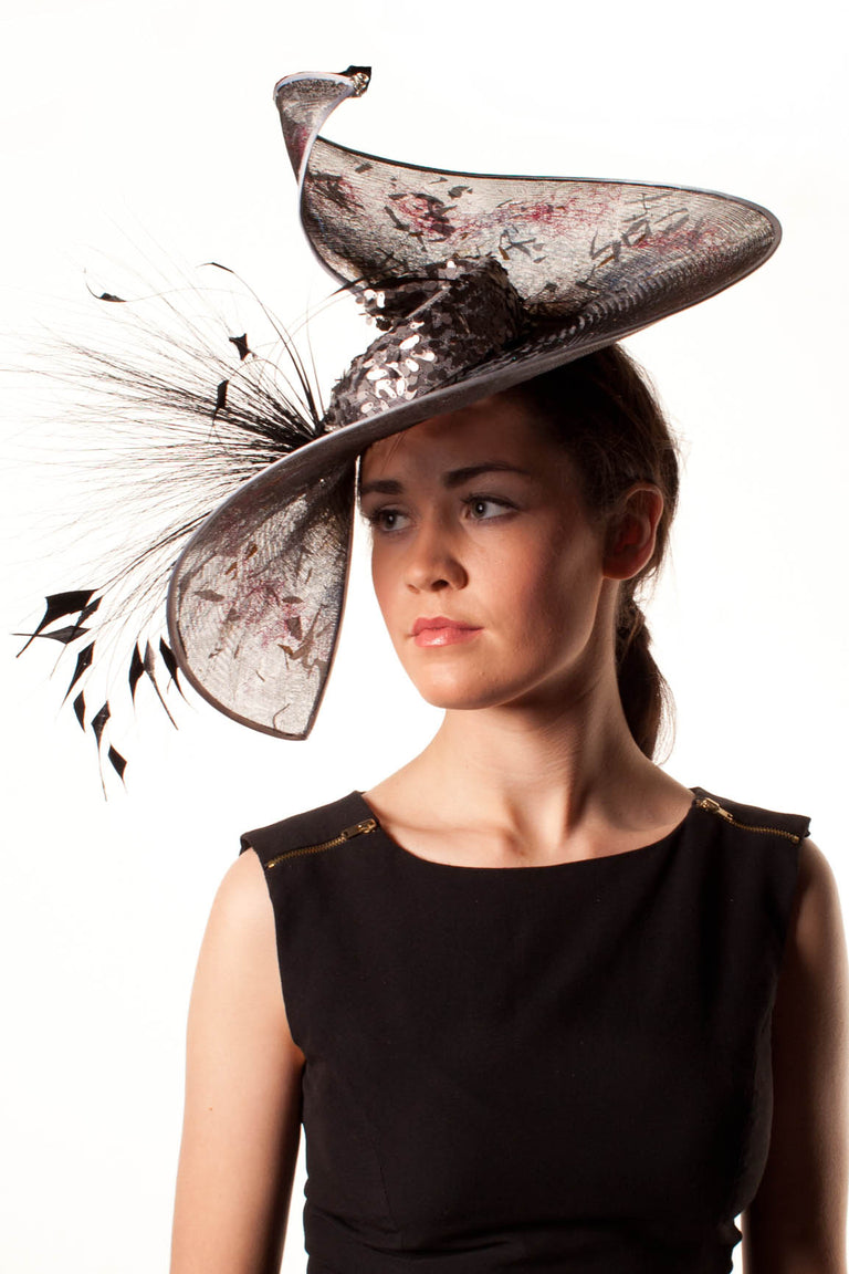 Lina Stein Millinery Workshop | crinolation hat class for intermediate