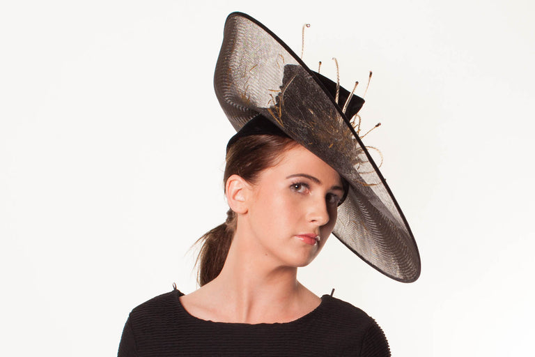 MILLINERY CRINOLATION - Creative Texture and Colour to your Crinoline Brim