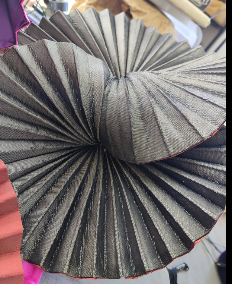 Online & Live | Rotational Millinery Origami-for advanced