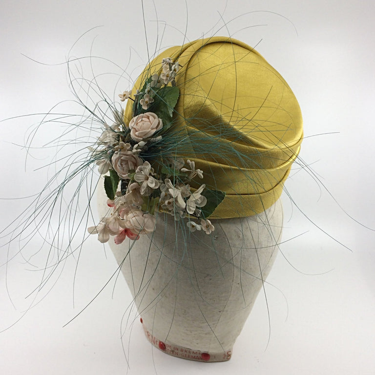 Lina Stein Millinery Workshop | fascinator hat class for beginners