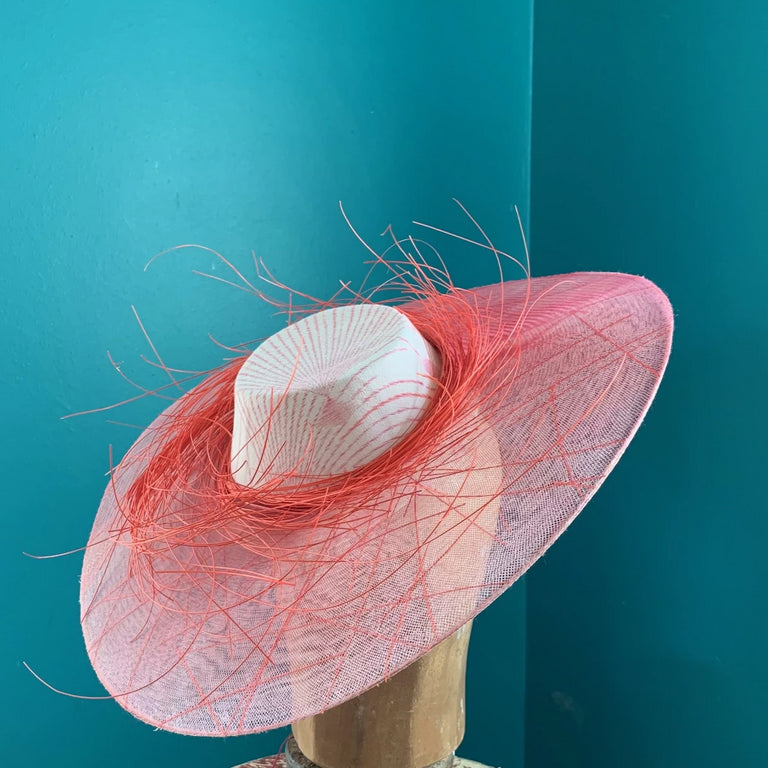 Lina Stein Millinery Workshop | crinoline hat class for advanced