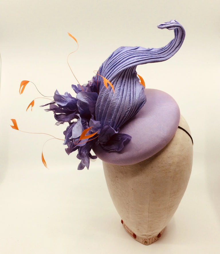 Lina Stein Millinery Workshop | couture flower and hat class for beginners