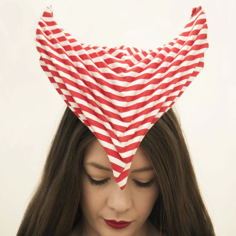Lina Stein Millinery Workshop | millinery origami for advanced. photography by Sadhbh Kenny