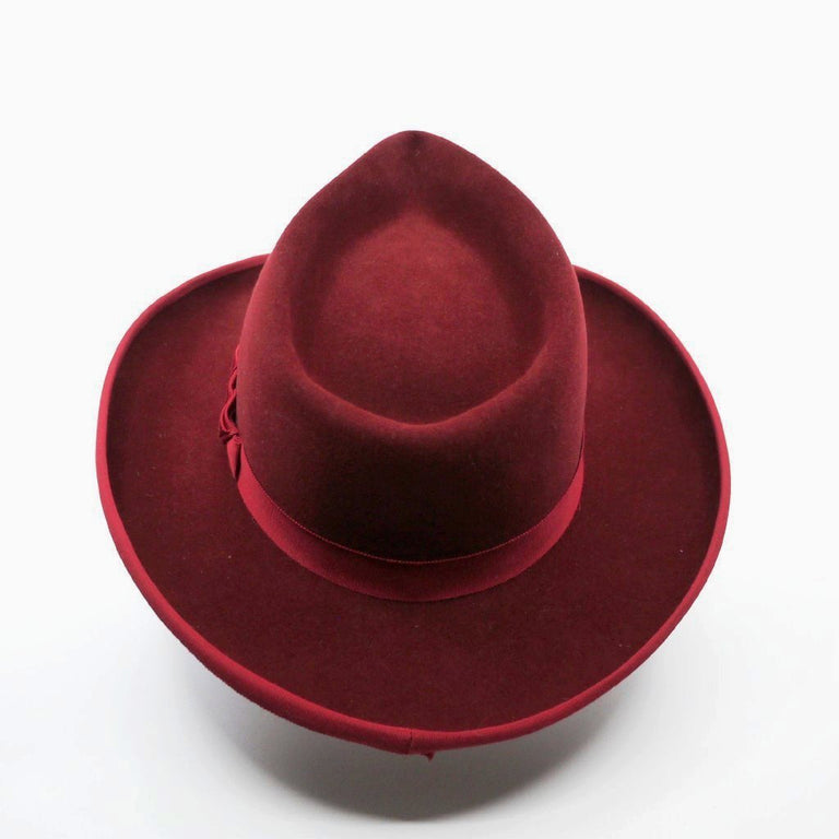 Lina Stein | Orson Fedora hat, hand made in Ireland | rear view