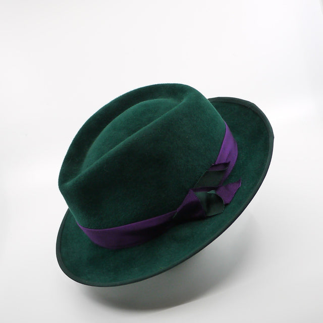 Lina Stein West wind trilby hat