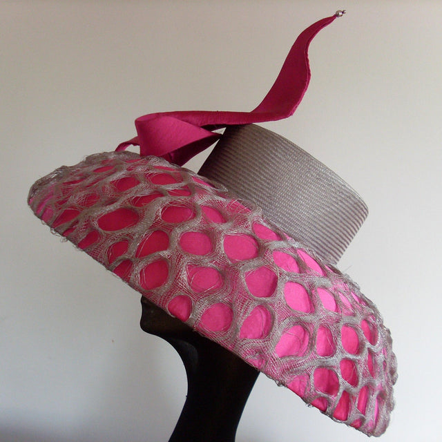 MAKE A FANCY HAT Using Sinamay