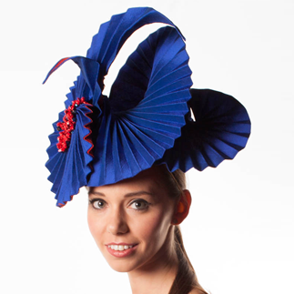 Lina Stein Millinery Workshop | millinery origami class for advanced