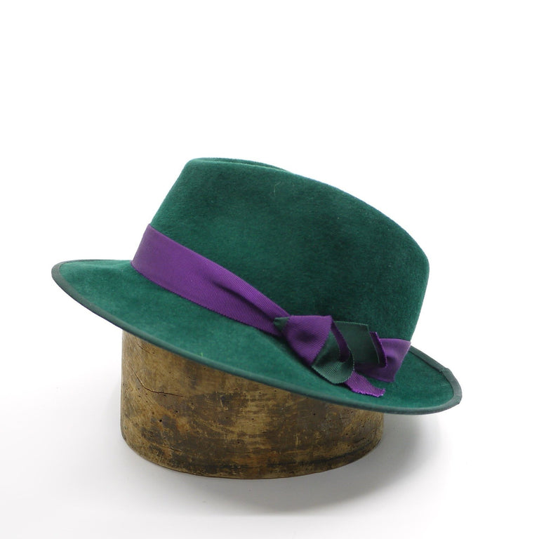 Lina Stein quality mens hats. West Wind trilby