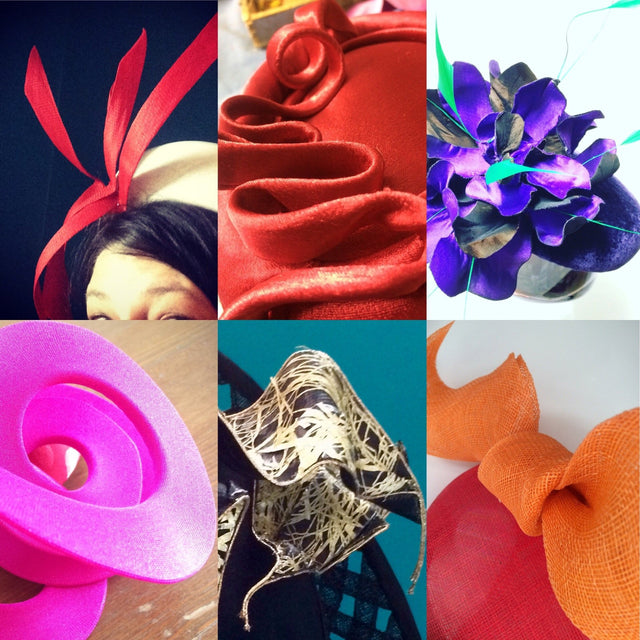 Lina Stein Millinery Workshop |learn to make trimming for hats for beginners