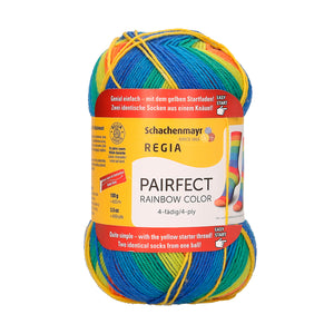 Regia Pairfect Rainbow 4 Ply