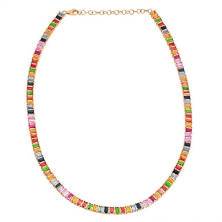 Rainbow Eternity Choker