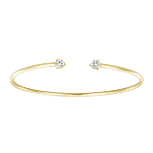 Statement Diamonds Cuff Bangle