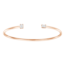 Load image into Gallery viewer, Statement Diamonds Cuff Bangle