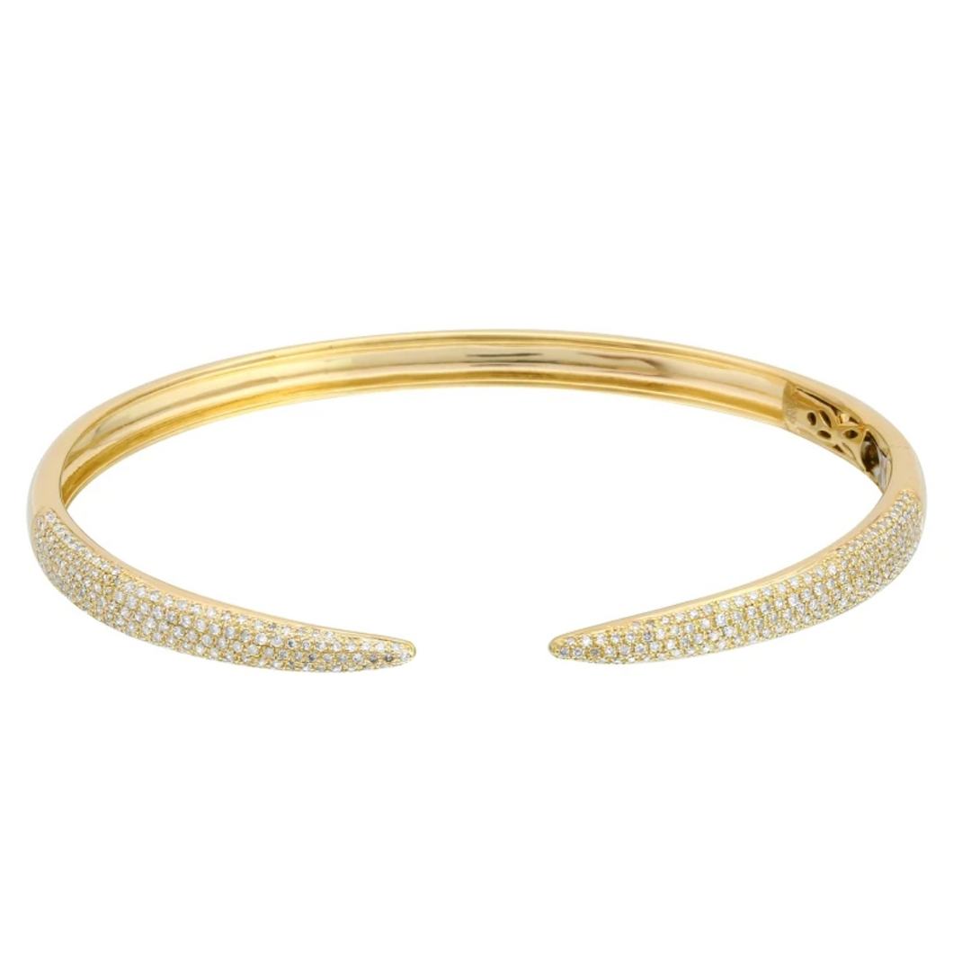 Diamond Claw Bangle