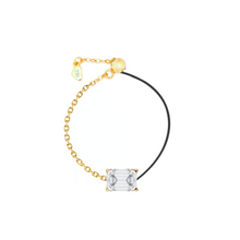 Load image into Gallery viewer, 18k Fancy Diamond Chain/Silk Cord Ring