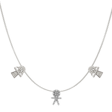 Load image into Gallery viewer, Kids Diamond Charms Necklace