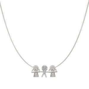 Kids Diamond Charms Necklace