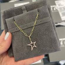 Load image into Gallery viewer, Enamel Cutout Taylor Star Charm