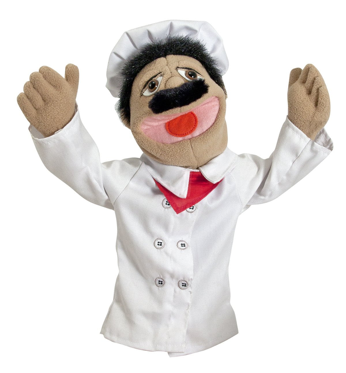 Melissa And Doug Chef Puppet pretend play toy