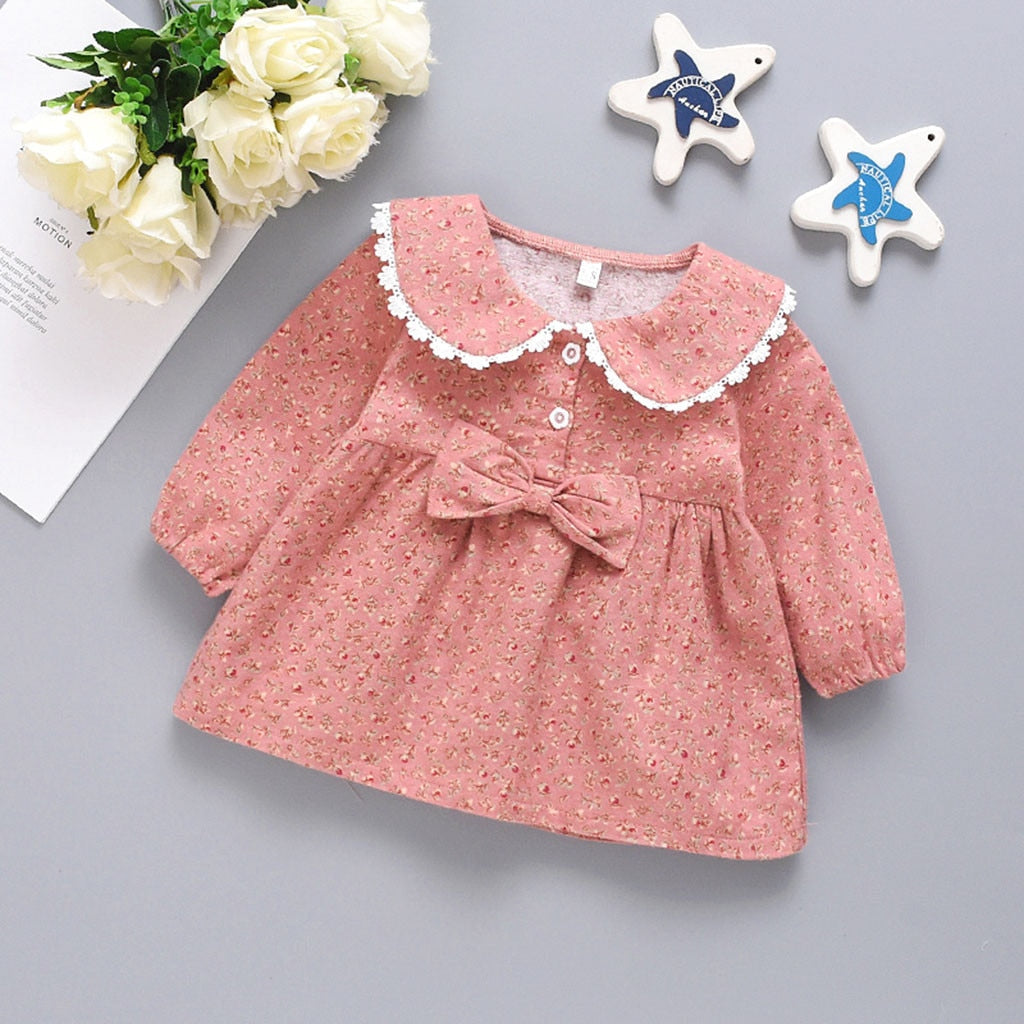 Baby Girl  Lace Floral  Dress