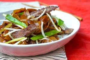 Ow ho fun - Cantonese beef fried rice noodles