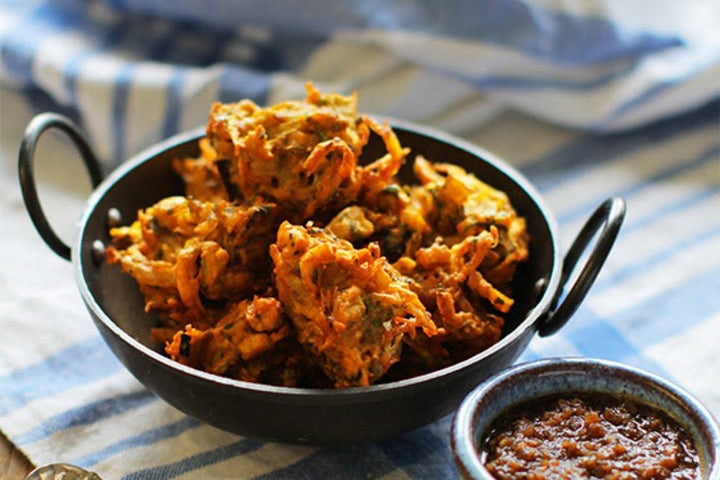 Pakora (starter for 4pp)