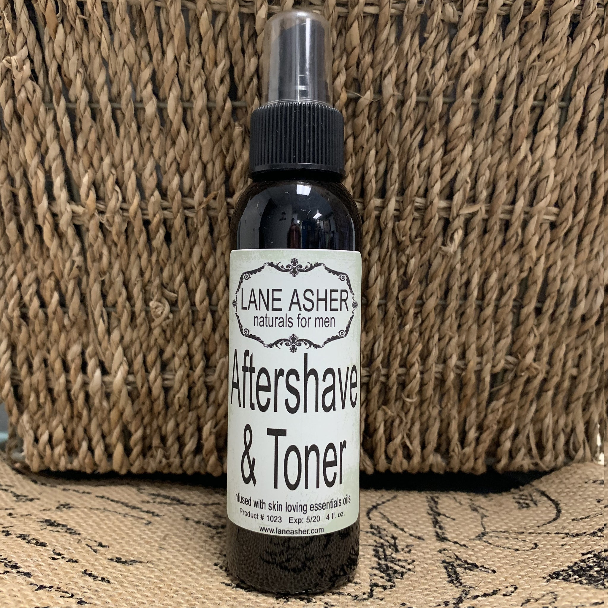 All Naturals Aftershave and Face Toner