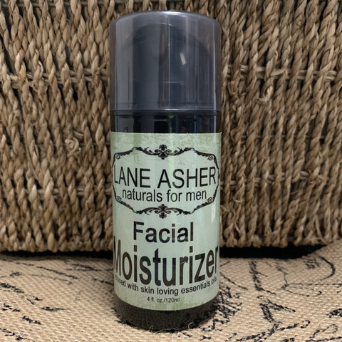 Natural Men's Facial Moisturizer for All Skin Types