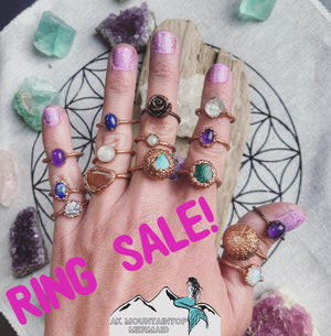 Ring Sale! 15% Off All Rings
