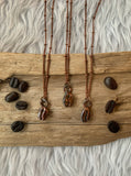 Real Coffee Bean Necklace