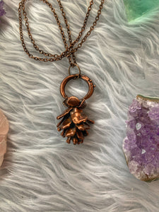 Real Alaska Pinecone Necklace