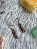 Dungeness Crab Claw Earrings