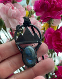 Mountain Magic Labradorite Necklace Pendant