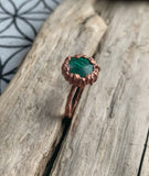 Malachite Ring // Size 8