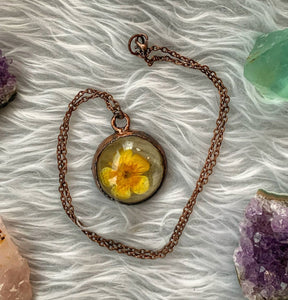 Alaska Buttercup Necklace