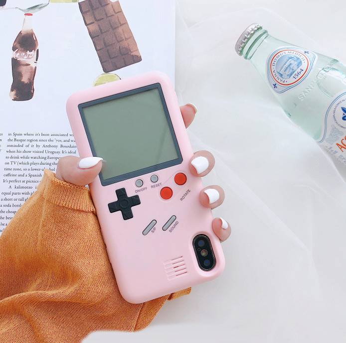 Pink Gameboy Case